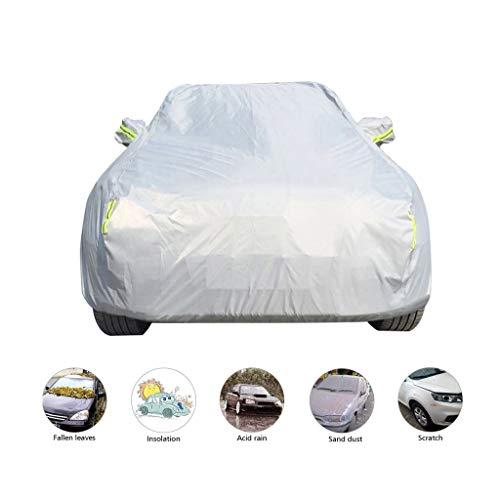 Autoplanen Garagen Kompatibel mit Autoabdeckung Nissan X-Trail, wasserdichte Schmutzabweisend Vollgarage den Ganzen Tag Autoschützer [Oxford-Stoff] 4 Farbe (Color : B, Size : 4455×1765×1750MM)