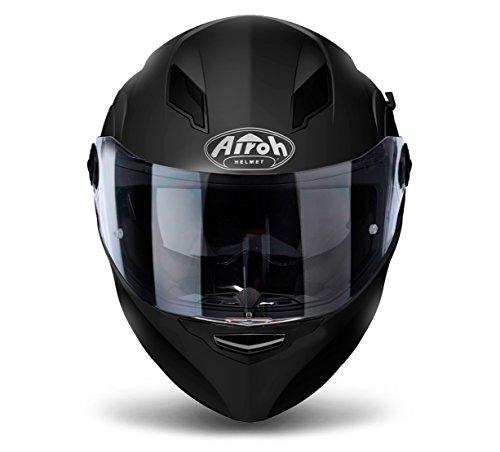 Airoh Motorrad Helme Movement S, Black Matt, Größe L