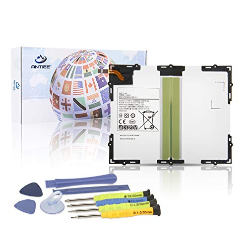 ANTIEE 7300mAh EB-BT585ABE EB-BT585ABA Tablet Laptop Akku Replacement für Samsung Galaxy Tab A 10.1