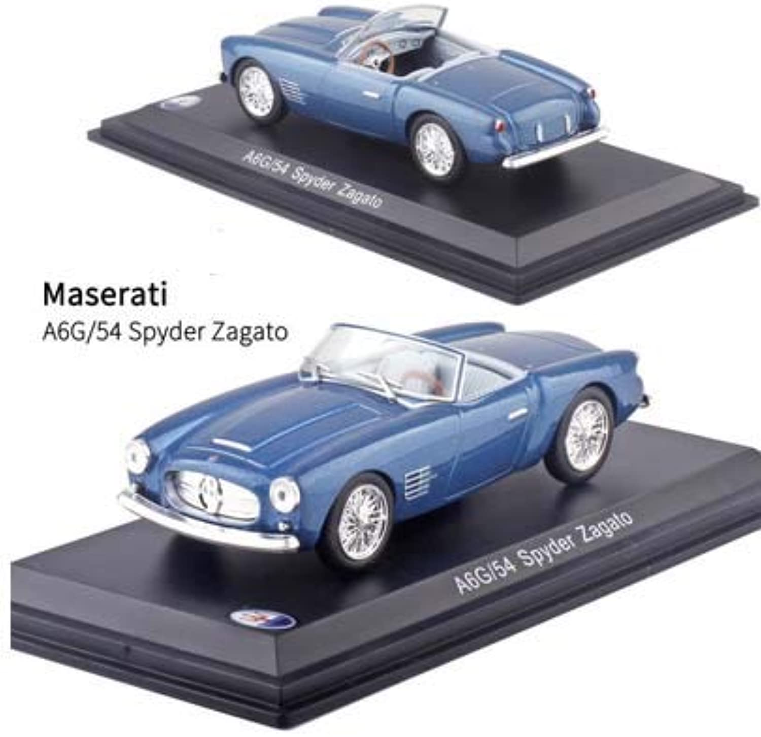Generic 1 43 Scale  Maseratis Alloy Diecast Car Model Vehicle Toys Antique Vintage Sport Muscle for Kids Toys Gifts Box 23