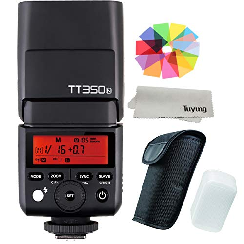 GODOX Mini TT350N TTL HSS max 1/8000s 2.4G Wireless X System Flash