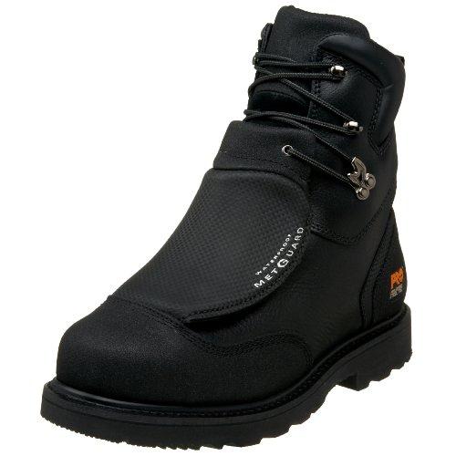 "Timberland PRO Men's 53530 8"" Metguard Steel-Toe Boot,Black,12 W"