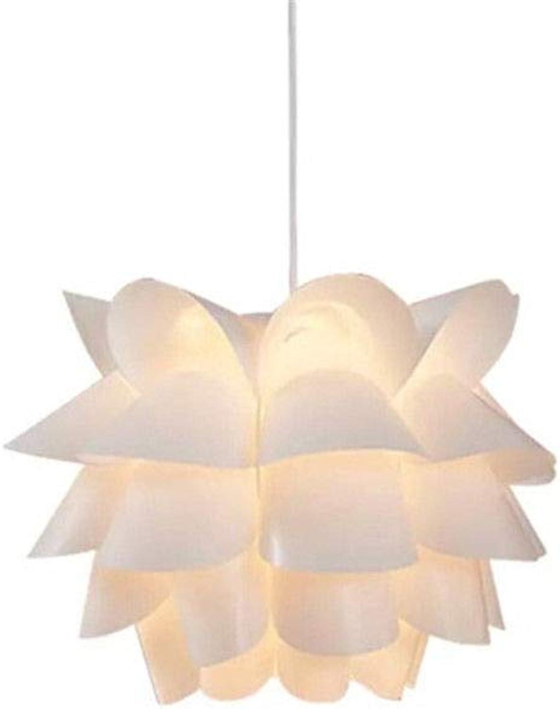 Nordic pendelleuchten pp lotus pendelleuchten für küche wohnzimmer schlafzimmer hause beleuchtung deckenleuchte wei hngelampe, 380mm