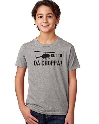 Get to Da Choppa Unisex Youth Shirt, 4 Colors