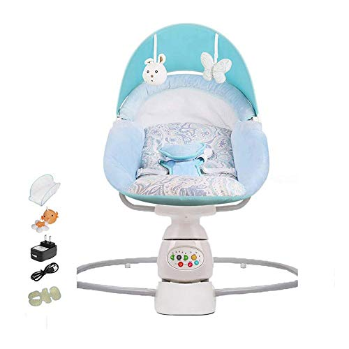 Best Price Qin Kid-to-Toddler Rocker, Safety Kid Rocking Chair - Kid Electric Cradle Rocking Chair, ...