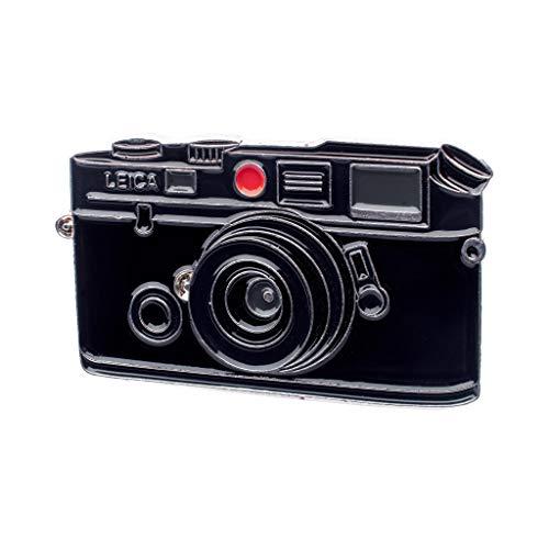 Esclusiva esclusiva Leica M6 M4 Film Camera Smalto Lapel Pin - 35mm Telemetro Fotografia Pins per Fotografi