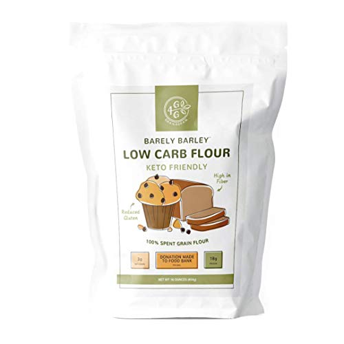 3 Pack - Spent Grain Flour   Low Carb   High Protein   Keto Friendly