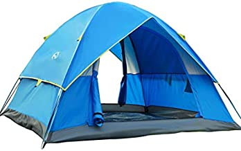 Wind Tour 3-4 Person Lightweight Backpacking Camping Tent...