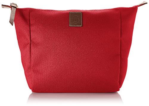 Roeckl Unisex-Erwachsene Bottle Bag Kosmetiktasche Midi Stofftasche, Rot (red), 9x20x30 cm