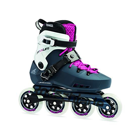 Rollerblade Damen MAXXUM EDGE 90 W Inline-Skate, sapphire/raspberry, 26.5