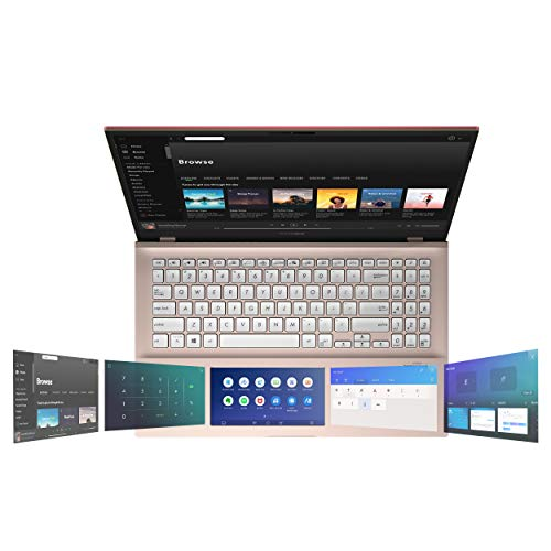 "Asus Vivobook S15 Thin & Light Laptop, 15.6"" FHD, Intel Core I5-8265U CPU, 8GB DDR4 RAM, PCIe NVMe 512GB SSD, Windows 10 Home, S532FA-DB55-PK, Punk Pink"
