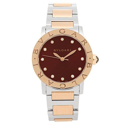 [ブルガリ] 腕時計 レディース BVLGARI BBL33C11SPG 12 レッド ローズゴールド シルバー [並行輸入品]
