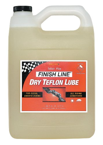 Finish Line DRY Teflon Bicycle Chain Lube 1 Gallon Jug