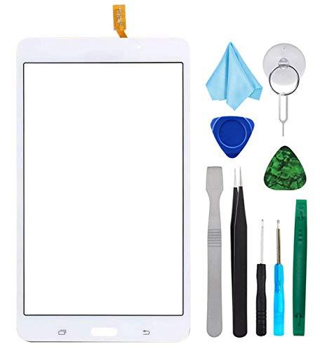 Tefir Blanco Pantalla táctil de Cristal para Samsung Galaxy Tab 4 SM-T230...