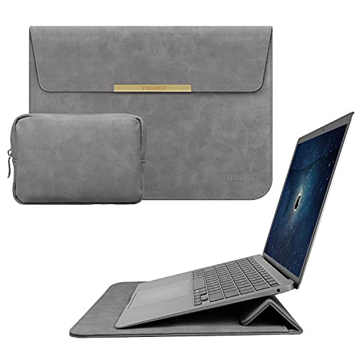 CHACHA 13 Inch Slim Laptop Sleeve Case with Stand Compatible with MacBook Air 13 / MacBook Pro 13 /...
