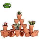 Awsuc Set di 28 Vasi da Fiori,vasi per Piante Vaso in Terracotta...