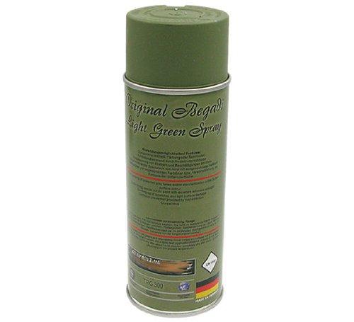 BEGADI Original Light Green- Acryl Lack/Sprühlack 400ml (matt, stark deckend)