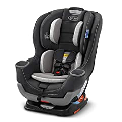 "Convertible car seat grows with your child from rear-facing harness (4-50 lb) to forward-facing harness (22-65 lb) Extend2Fit 4-position adjustable extension panel provides up to 5"" additional legroom, allowing your child to safely ride rear-facing l..."