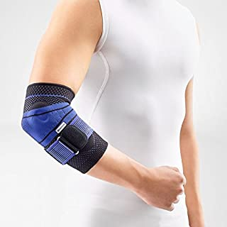 Bauerfeind - EpiTrain - Elbow Support - Breathable Knit Elbow Brace Targeted Compression for Chronic Elbow Pain, Supports Forearm Tendons & Muscles, Golfer's or Tennis Elbow Relief