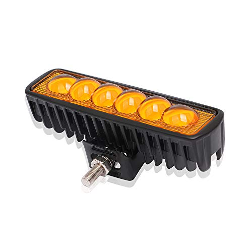 XINGKEJI 18 W 12-24 V LED Koplampen voor Auto Motorfiets Quad Bike Truck Boot Auto Strip Licht LED Werk Licht Waterdichte Spotlight