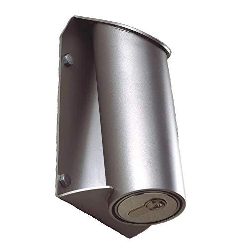 Kruse Aufputz-Rohrtresor - Schlüssel-Safe für Wand-Aufputzmontage - ohne eingebautem Halbzylinder