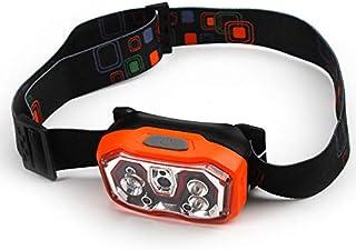 キャンプ用ヘッドライト、誘導ナイトフィッシングヘッドライト - USB充電 - 防水LEDハイライトフィッシングヘッドライト - 洞窟照明用ヘッドライト
