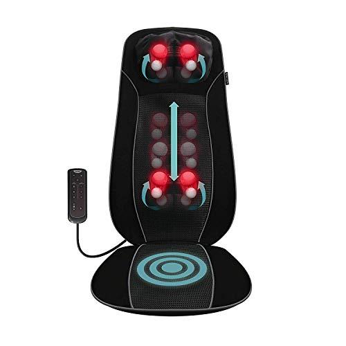 Salter Back Massager Shiatsu Massage Chair Pad...