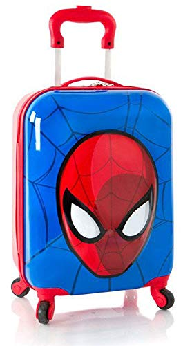 Marvel Spiderman 3D Pop Up Boys 18' Hardside Spinner Carry On Luggage [ Multicolor ]