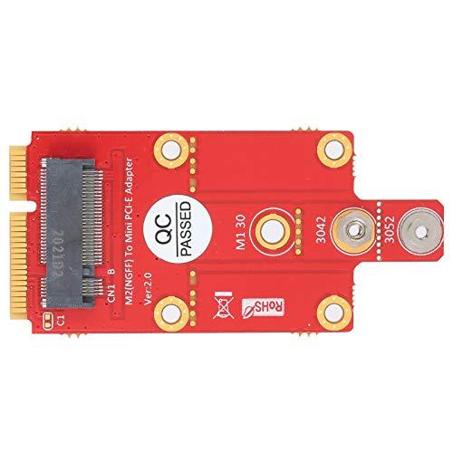 Shipenophy Módulo convertidor USB Durable Eficiente M.2 Key B a Adaptador PCI-E para PC Accesorios para computadoras de Escritorio y portátiles