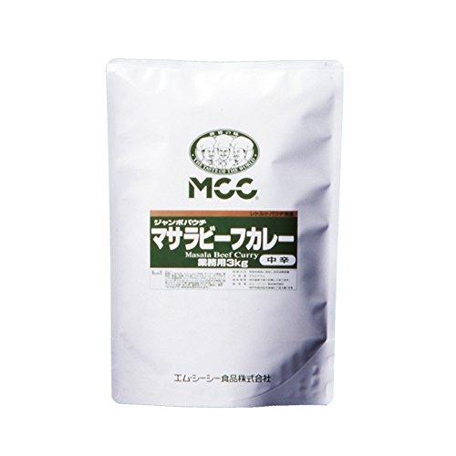 【常温】 エム・シーシー食品 マサラビーフカレー 中辛 3kg 業務用 カレー