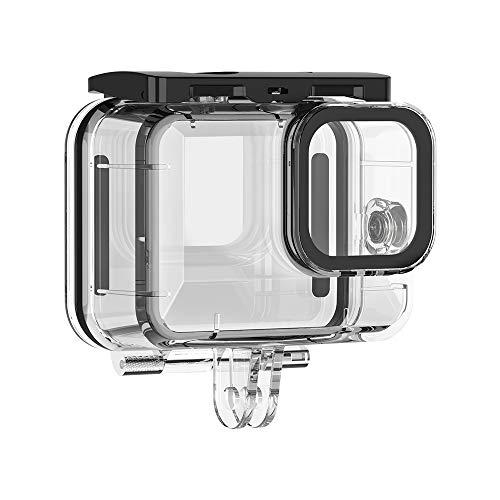 UlanziGoProHERO9Black用ケースhero9透明ケースhero9防水ケースhero9ケースダイブHERO9防塵ケースHERO9保護ケースgopro9防水ハウジング耐圧水深60m水中撮影用
