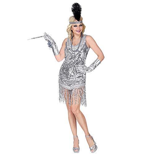 Widmann-WDM08721 Volwassen kostuum voor dames, zwart en meerkleurig, WDM08721