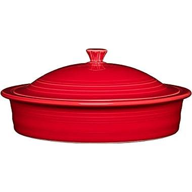 Homer Laughlin 326-1488 Tortilla Warmer, Scarlet