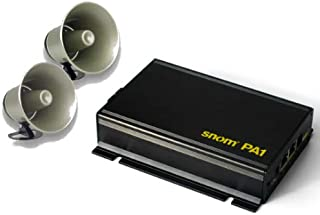 SNOM PA1 Public Address System with 2 Viking Electronics 25AE