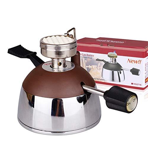 Homeatk Portable Micro Burner Für Siphon Kaffeemaschine Kaffee Zubehör Mini Edelstahl Außen Butan Gasbrenner