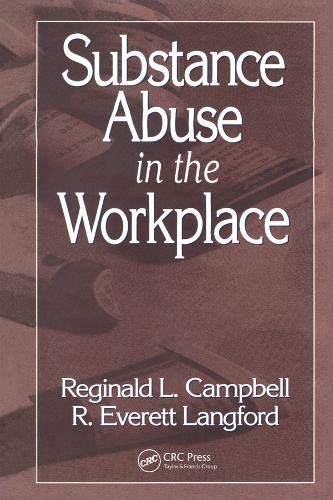 Download Substance Abuse in the Workplace 0873711319
