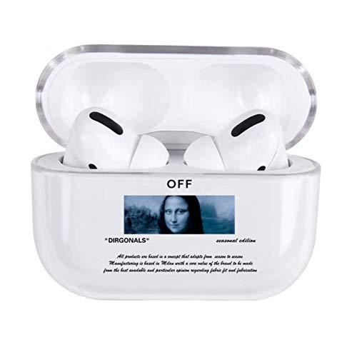SCAYK Niedliche Karikaturbuchstaben Hard Case für AiProds 2 1 Abdeckung Luxus Transparent Bluetooth Kopfhörer Fall für Airpod Headset Box Bag (Color : for Pro 4)