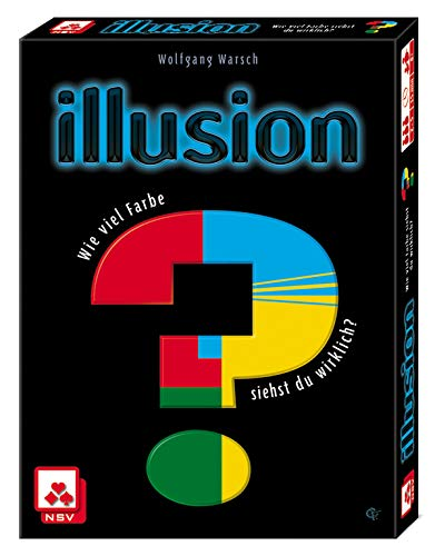 Nürnberger Spielkarten Tarjetas Verlag 08819908056nsv–4057–Illusion–Juego de Cartas