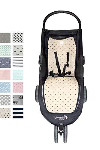 Fundas BCN F61-06099 - Colchoneta para Baby Jogger City Mini
