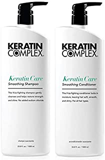 Keratin Complex Smoothing Therapy Care Shampoo and Conditioner Litre Duo