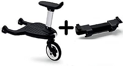 Bugaboo Comfort Wheeled Board with Seat + Bugaboo Comfort Wheeled Board Adapter - Donkey / Buffalo
