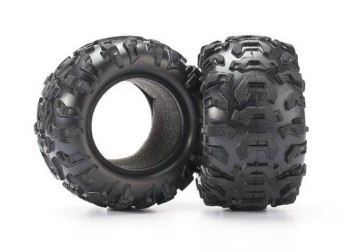 Traxxas 7270 Reifen, Canyon bei 5,6 cm (2) / Schaumstoffeinsätze (2)