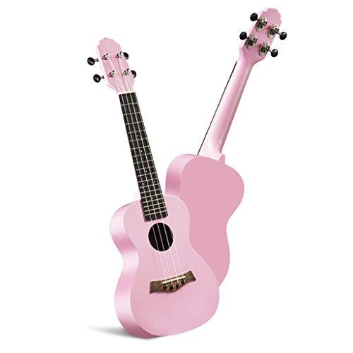 LINGZHIGAN Ukulele 27 Zoll 30 Zoll Female Student Hawaiian Kleine Gitarre Rosa Uklele Musikinstrument ( Size : 30 Inch )