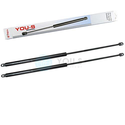 YOU.S 0308250111 Gasfeder für Heckscheibe/Dachluke Länge: 600 mm Kraft: 150 N (2 Stück)