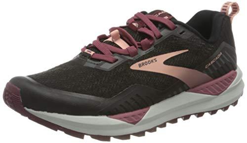 Brooks Cascadia 15, Zapatillas para Correr Mujer, Negro Rosa, 36 EU