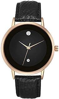MESTIGE Womens Quartz Watch, Analog Display and Leather Strap MSWA3147