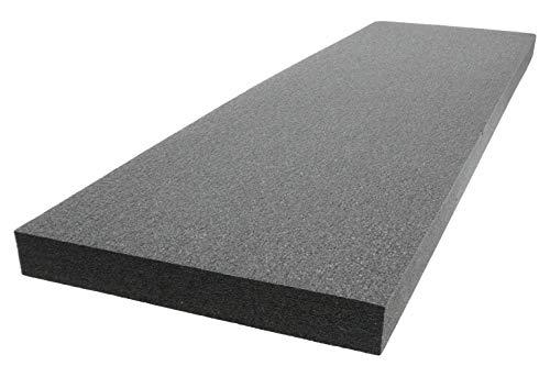 Case Club (PE Polyethylene Customizable Foam 53.5 x 16 x 2.0...