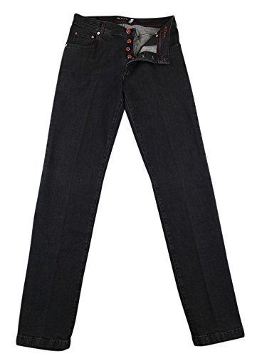 Kiton New Black Jeans - Slim - 35/51