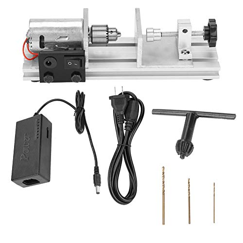 110V-240V Drill Jewelry Beads Pearls Driller Making Tool Drilling Holing Machine with Cooling Fan(US)