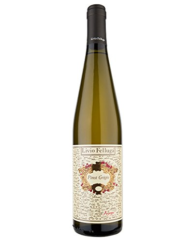 Livio Felluga Pinot Grigio 2016 italiano vino blanco